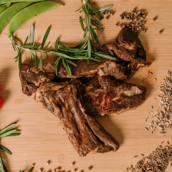 The Pixies Green Pantry_Lamb Shoulder Chops_Cooked